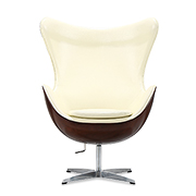 Reclining swivel lounge chair