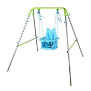Bear-seat patio swing for children