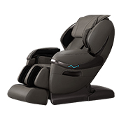 Massage chair works with 3D mechanical hands