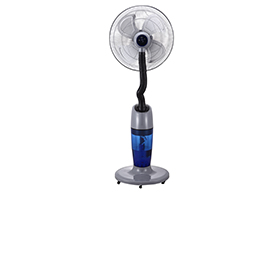 Humidifying stand fan delivers 1,200mL/hr