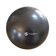 Exercise ball supports 1,000kg static load