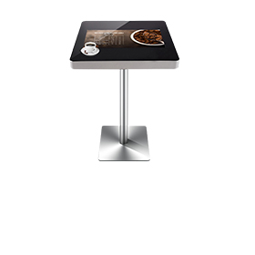 Smart table with touchscreen LCD