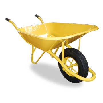 Wheelbarrow handles 65L water