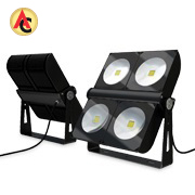 LED standing floodlight rotates 355 degrees