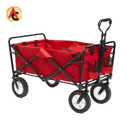 Multifunction garden cart folds in 3 seconds