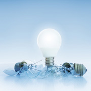 GE dims the light on CFLs, switches to LEDs