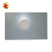 Light-burned powder sandwich panel in steel plate