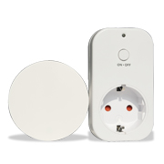 Battery-free remote control wireless socket