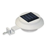 Wireless solar gutter lamp is automatic
