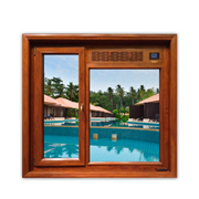 Oak casement window purifies air