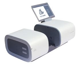 Photodiode array spectrophotometer