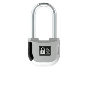 Bluetooth 4.0 padlock connects to phone