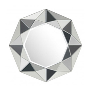Multifaceted mirror looks like a gem