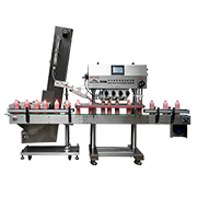 Capping machine handles 150 bottles/min