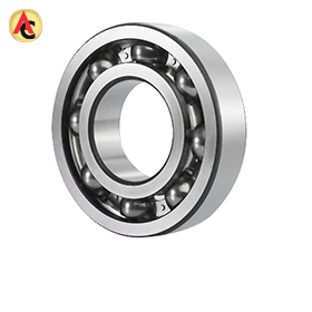 Low-noise deep-groove ball bearing