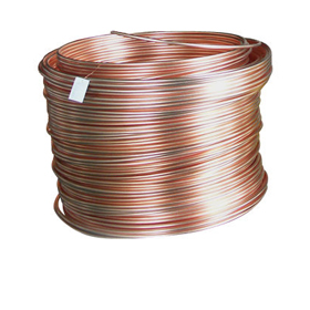 Degassed, purified cast copper wire