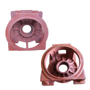 Sand casting part for elevator components