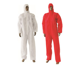 Type 5/6 disposable coverall uses SMS fabric