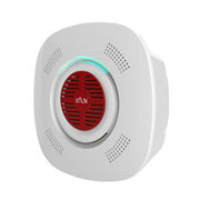 Smart smoke detector with voice alarm