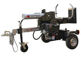 Log splitter with 35 ton maximum force