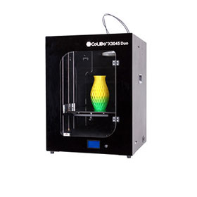 3D printer allows toolless printout removal