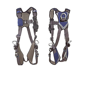 Climbing harness uses Tech-Lite aluminum