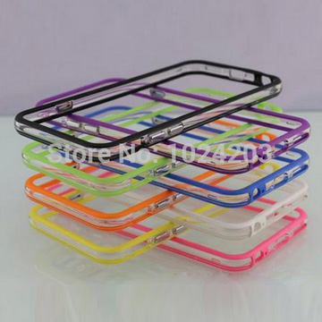 TPU, PC bumper case suitable with iPhone 6