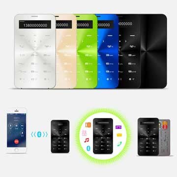 Multifunction smartphone mate supports SIM card slot