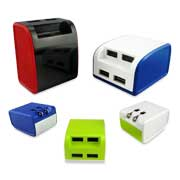 Gallery View: Mobile phone chargers suit various devices
