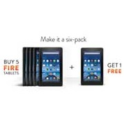 Amazon now selling tablets by the six-pack
