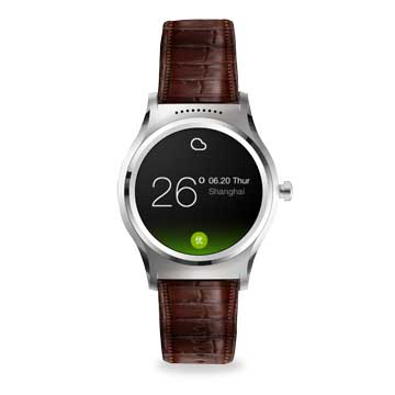 Smart watch supports heart rate, sleep monitor