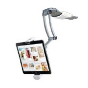 CTA Digital 2-In-1 Kitchen Mount Tablet Stand