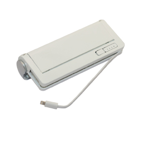 Power bank doubles as external storage