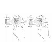 Samsung patents smart watch that projects onto hand