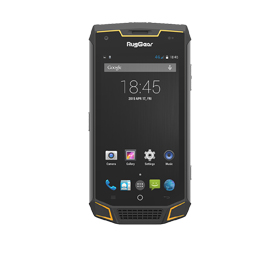 NFC-enabled rugged phone has tri-proof frame