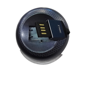 Round retractable data cable for iPhone