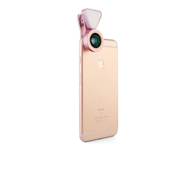 3-in-1 clip-on camera lens for smartphones