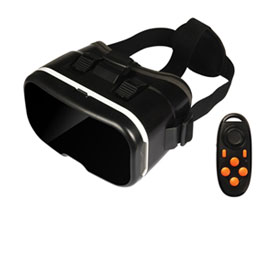 Mobile VR headset fits 4 to 6in handsets