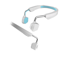 Bone conduction headset is also media player