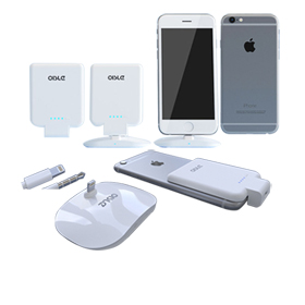 Docking station with power bank for iPhone