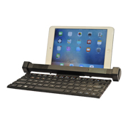 Bluetooth keyboard equipped with speakers
