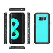 Water-, dust-resistant case for Samsung Galaxy S8