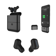 TWS Bluetooth earbuds with 1,600mAh charging case