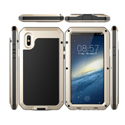 Case for iPhone has built-in screen protector