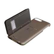 Charging case for iPhone has microSD card slot, Lightning connector