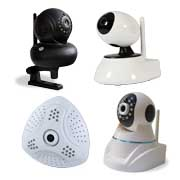 Gallery View: Wireless IP cameras interact with personal electronics