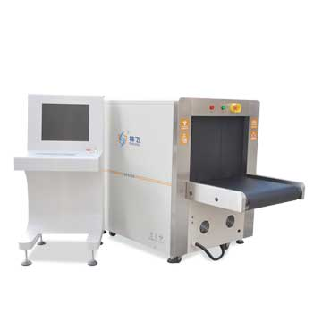 X-ray baggage scanner magnifies up to 64x
