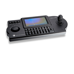 IP decoder keyboard for PTZ cameras, NVRs