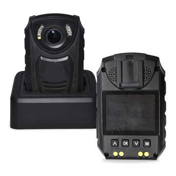 Wireless remote-controlled GPS body camera