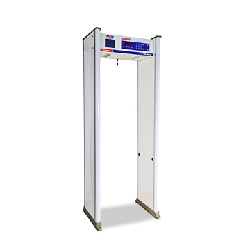 Walk-through metal detector with 6in LCD